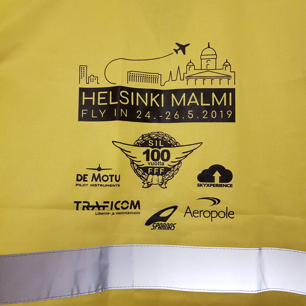 "Huomioliivi ""Helsinki City Airport"" Fly-in 2019"